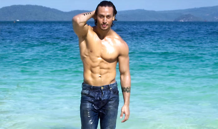 Tiger Shroff in Baaghi six-pack