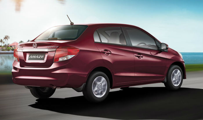 New Honda Amaze Facelift 2016 Launched In India Price In India Car