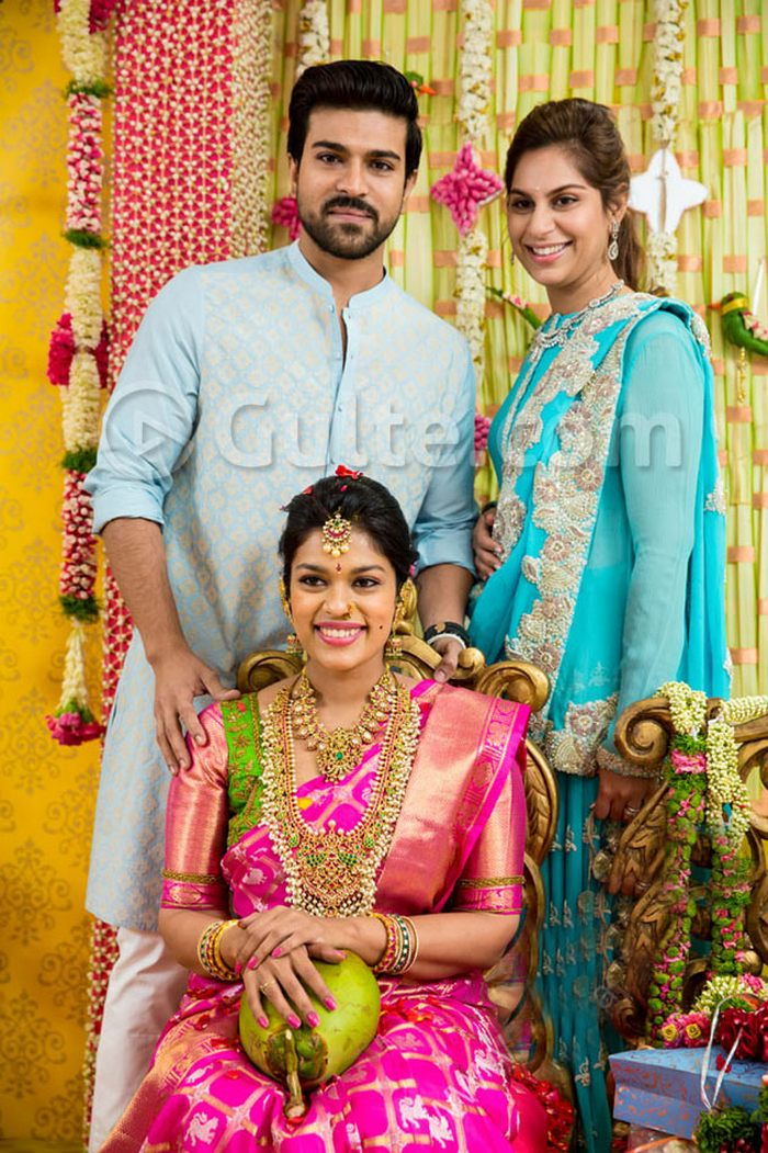 chiranjeevis daughters wedding all about sreejas