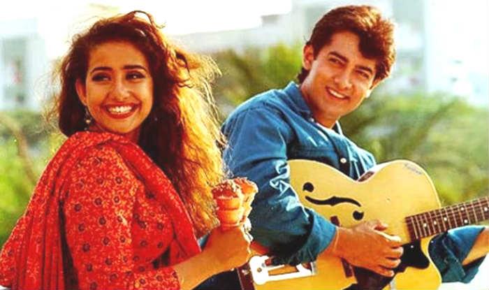 Aamir Khan & Manisha Koirala