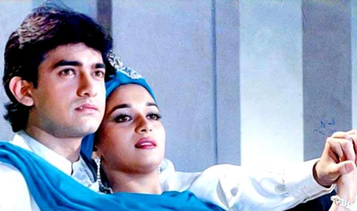 Aamir Khan & Madhuri Dixit
