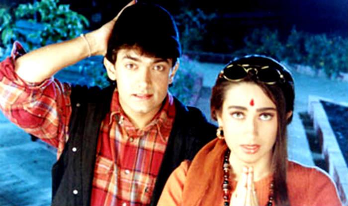 Aamir Khan & Karishma Kapoor