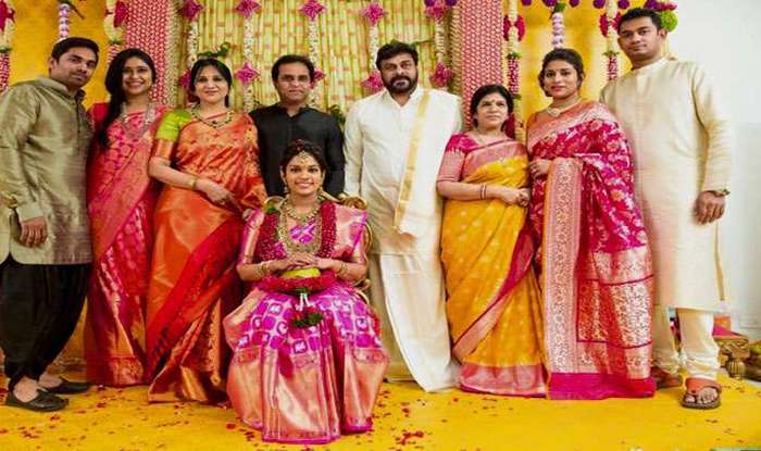 Chiranjeevi's daughter's wedding: All about Sreeja's second