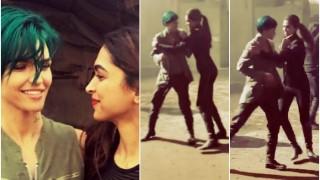 When Deepika Padukone & Ruby Rose grooved to Yo Yo Honey Singh on the sets of xXx! Watch video