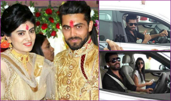 Ravindra Jadeja & Rivaba Solanki to get married on April 17: Indian cricketer shares heartfelt message after receiving Audi Q7 from in-laws!