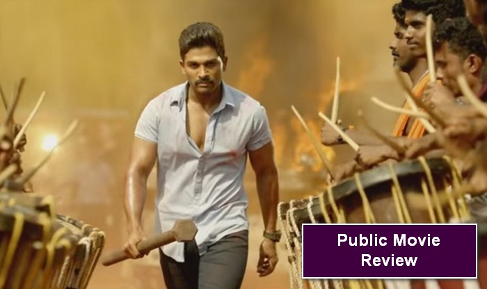 Allu Arjun Sarrainodu movie review