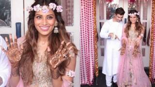 Bipasha Basu-Karan Singh Grover wedding: B'town couple speaks to media after Mehendi ceremony! (Video)