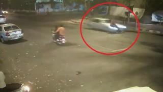 Shocking! Speeding Mercedes kills businessman in Delhi (Watch video)