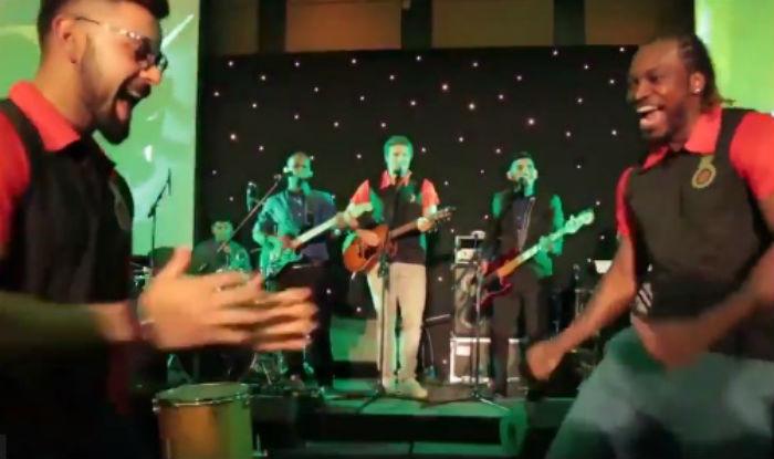 Video Virat Kohli Chris Gayle Groove With Carefree