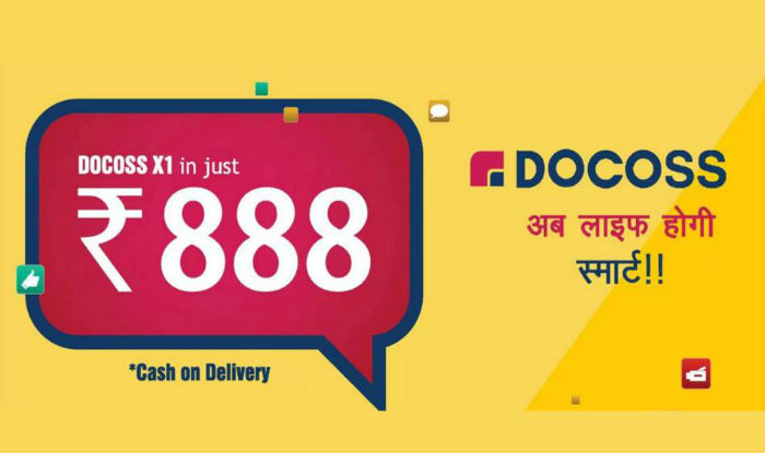 docoss com: How to book Docoss X1 smartphone at Rs 888 online and
