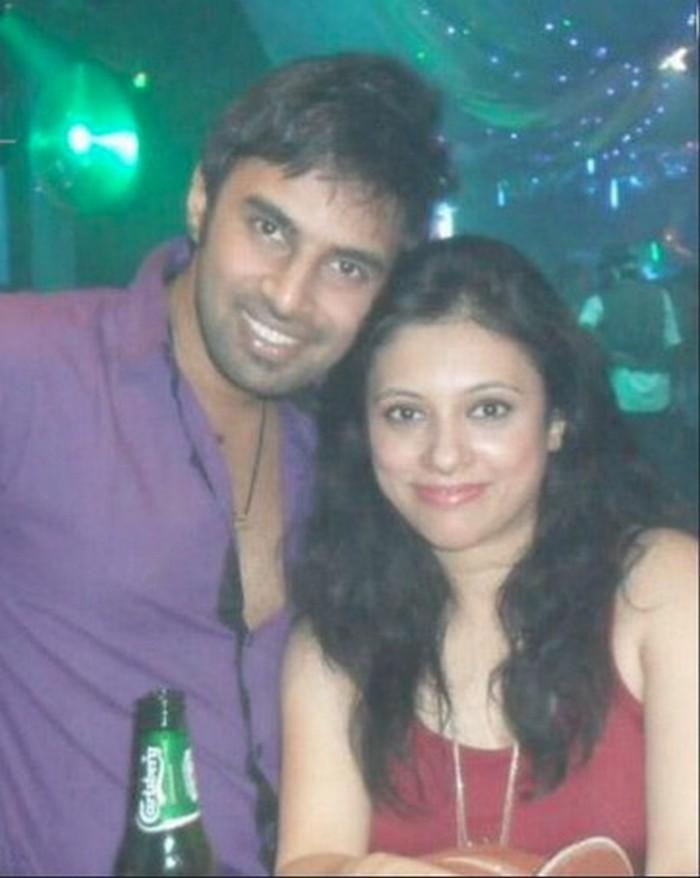 rahul raj singh with wife sougata mukherjee 2 rs