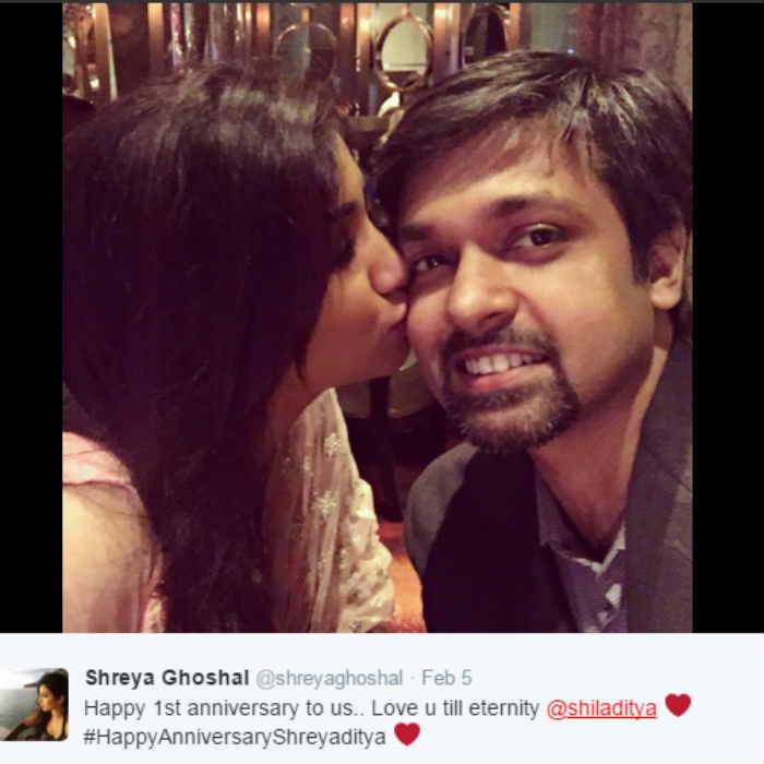 shreya ghoshal husband name wwwimgkidcom the image