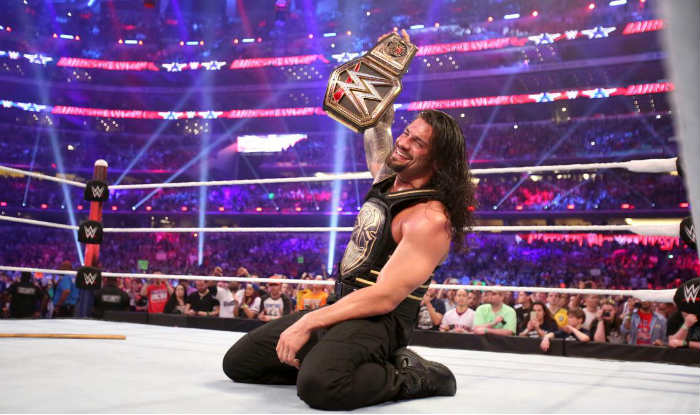 After His Win At Wrestlemania 32 Roman Reigns Gets