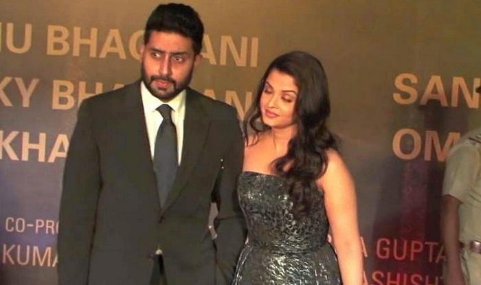 Abhishek Aishwarya at Sarbjit premiere in Mumbai