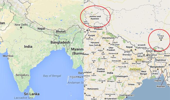 Google now shows Jammu & Kashmir and Arunachal Pradesh as integral ...