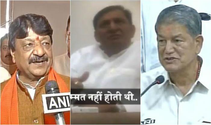 Uttarakhand crisis: Another sting video against Harish Rawat released, rebel Congress MLA Madan Bisht was offered bribe (Watch)
