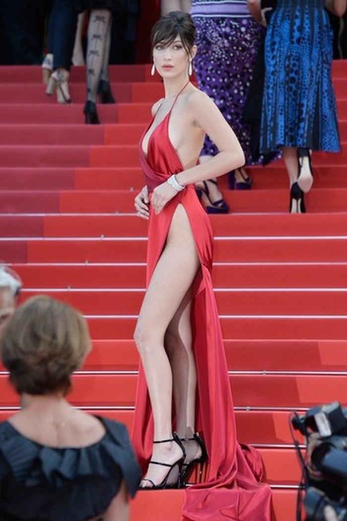 bella-hadid-cannes-wardrobe-malfunction-red-dress-1