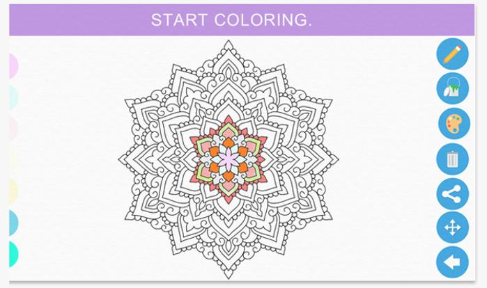 zen coloring app