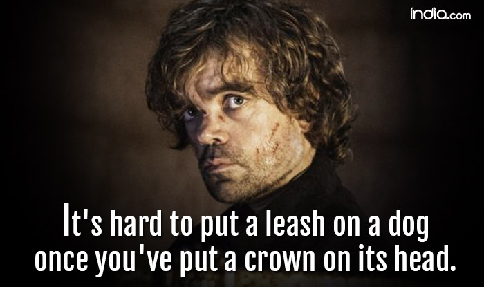 11 Quotes From Game Of Thrones By Tyrion Lannister Which Offers You