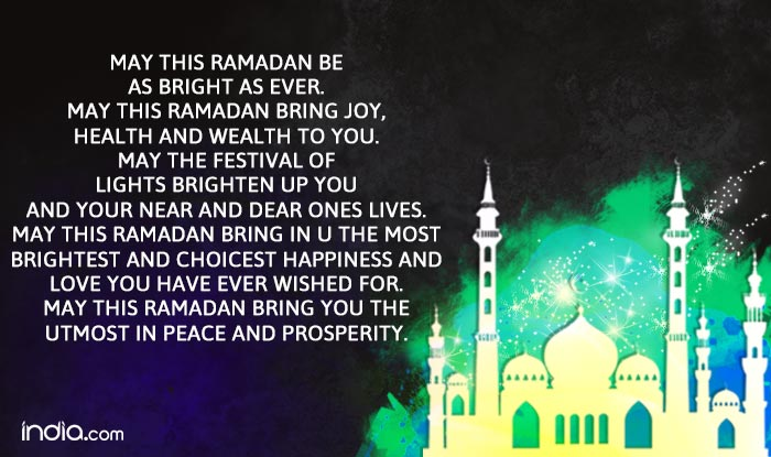Happy ramazan 2016 wishes best ramazan sms messages whatsapp whatsapp reads may this ramadan be as bright as ever m4hsunfo