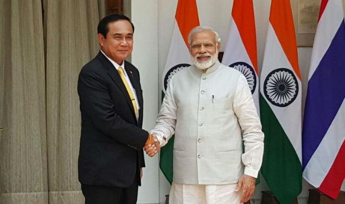 Thailand PM Prayuth Chan-ocha calls on Narendra Modi, delegation-level talks begin