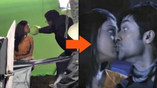 After all the fuss our censor board creates over kissing in movies, turns out, the kissing isn't real at all!