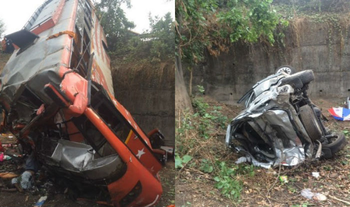 road accident on mumbai pune expressway