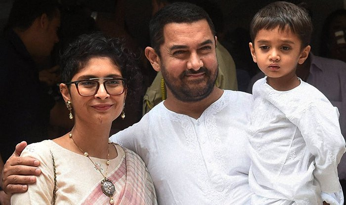 aamir-khan-wife kiran rao-and-son azad 2