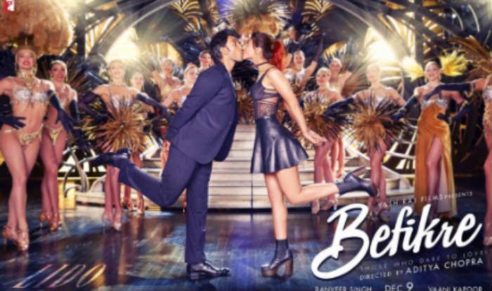 Befikre new poster: Ranveer Singh, Vaani Kapoor do it all ...