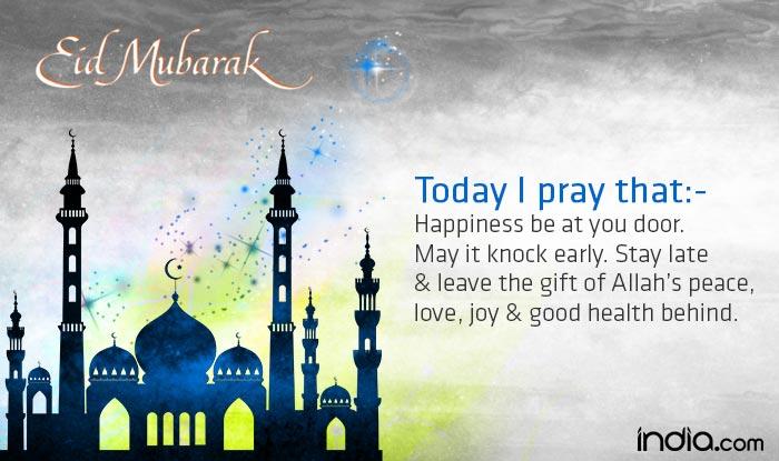 Eid Mubarak 2016 Wishes Best Eid Chand Raat Mubarak Sms Messages Whatsapp Facebook Quotes Ecards To Wish Happy Eid Al Fitr 2016 Greetings India Com