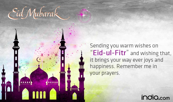 Eid mubarak 2016 wishes best eid chand raat mubarak sms messages 4 sending you warm wishes on eid ul fitr and wishing that it brings your way ever joys and happiness remember me in your prayers m4hsunfo