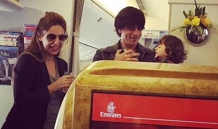 gauri shah rukh khan and abram khan