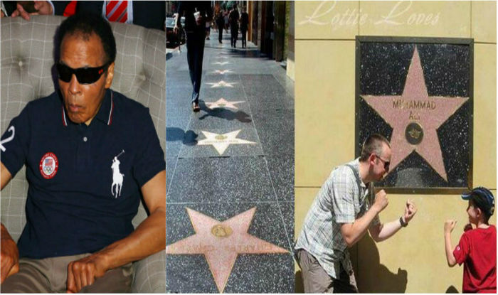 new style aa438 2a6f8 Muhammad Ali is the only celebrity whose  Hollywood Walk of Fame  star is  placed on wall, marking respect to Prophet Muhammad   Sports News, India.com