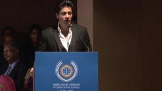 Shah Rukh Khan inspirational video at Dhirubhai Ambani International School goes viral (Watch)