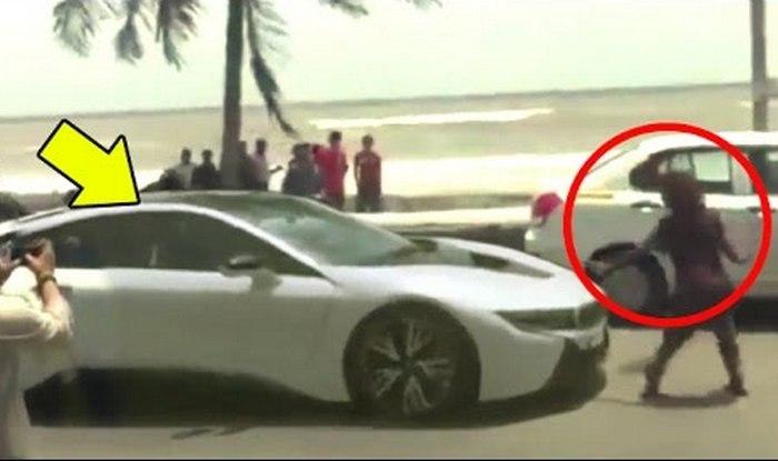 shah rukh khan new BMW i8