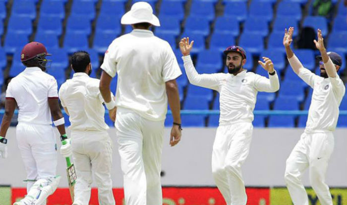 Image result for India vs West Indies, North Sound, 2016