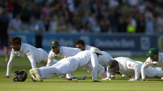 Watch: Pakistan cricket team's push-up celebration after win over England at Lord's