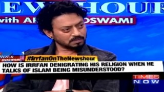 Irrfan Khan on The Newshour Debate: Huge chunk of Muslims are fighting against terrorism (Watch video)