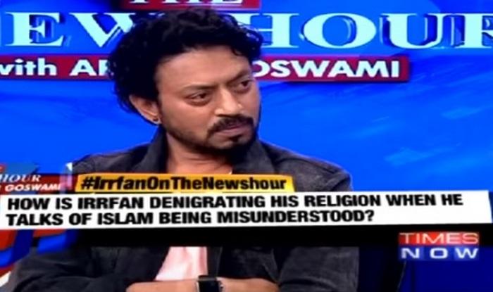 Irrfan Khan on The Newshour