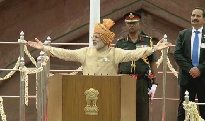 Live telecast narendra modi independence day speech 2016 - Prime minister of india office address ...