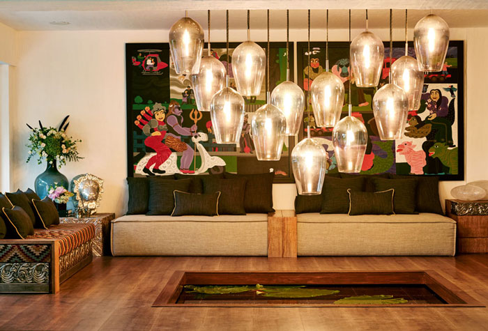 Akshay Kumar And Twinkle Khanna Home Photos Copyright Vogue 5