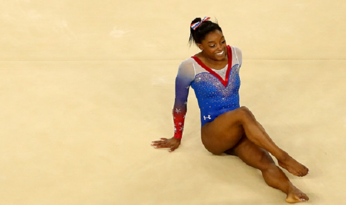 Rio Olympics 2016: Golden finale for US gymnast Simone ...