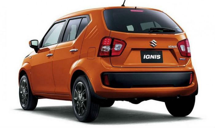 Maruti Ignis Rear Profile