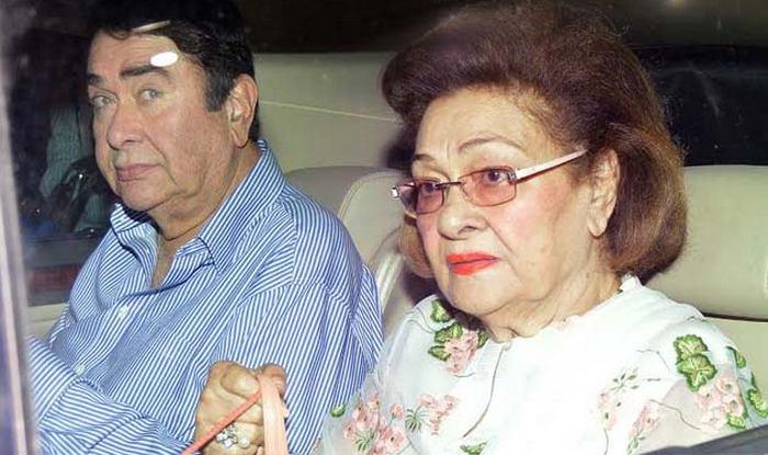 RANDHIR KAPOOR AND KRISHNA RAJ KAPOOR