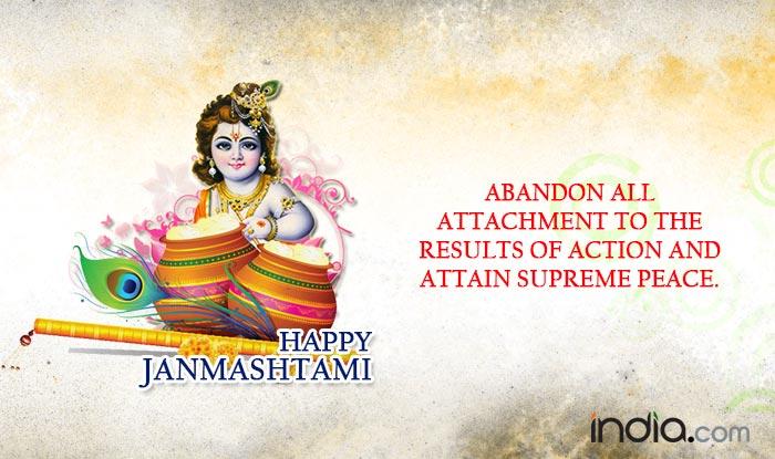 2016 Krishna Janmashtami Golkulashtami Quotes 20 Best Quotes Of