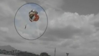 Caught on camera: Man falls to death while parasailing in Coimbatore (Watch Video)