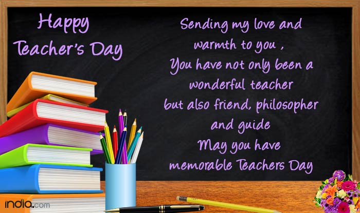 Happy Teachers Day 2016: Best Teachers Day Messages, WhatsApp & Facebook  Status, Quotes, wishes, SMSes & greetings to share | India.com