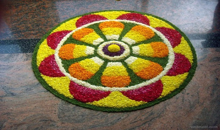 Onam Special Pookalam: 10 Beautiful Pookalam Designs For