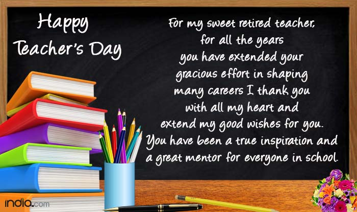 Happy Teachers Day 2016: Best Teachers Day Messages