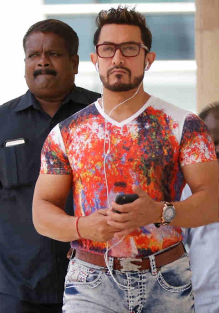 Aamir Khan S Secret Superstar Mr Perfectionist Rocks Spiky